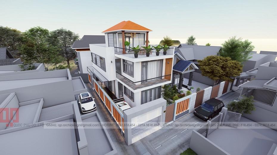 Mr Nam's Villa in Phu Cuong